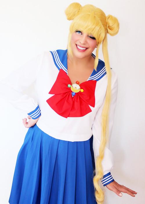Bunny Tsukino cosplay.