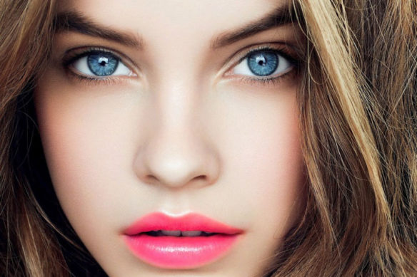 How make up blue eyes