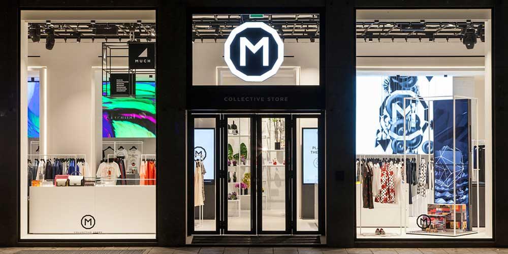 M Collective concept store Milano.