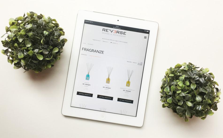 Reverseshop shopping online.