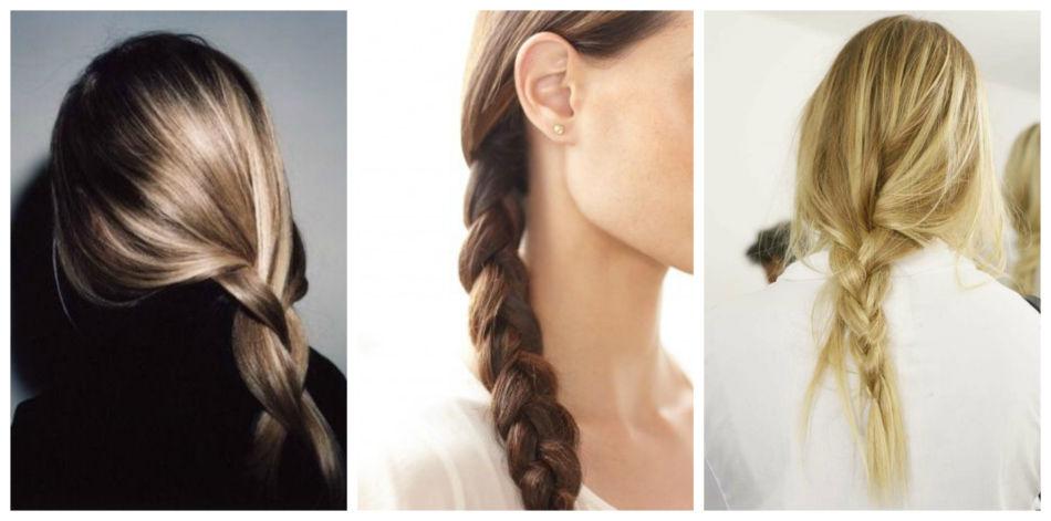 Trecce classiche - Classic braids