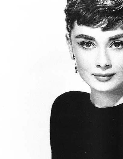 Audrey Hepburn icona di stile di eleganza - Audrey Hepburn elegance style icon.