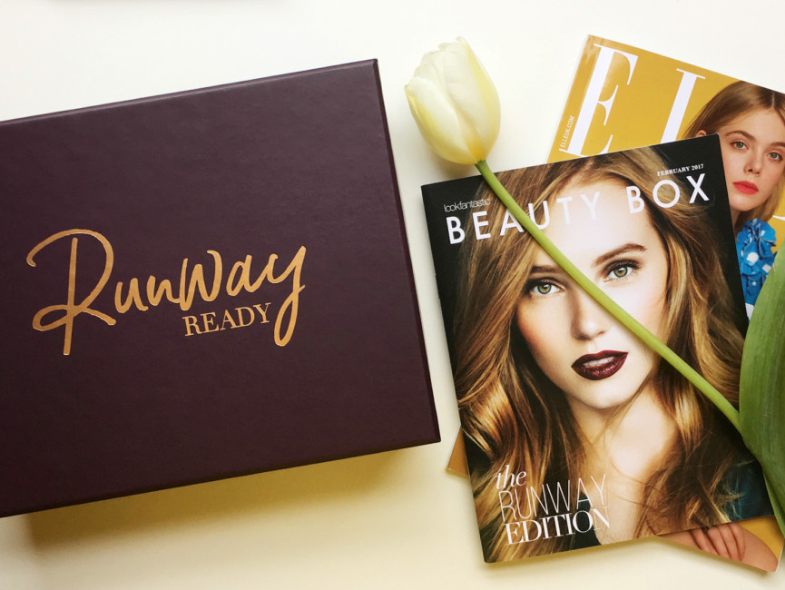 Beauty Box Runway Ready edition by Lookfantastic.