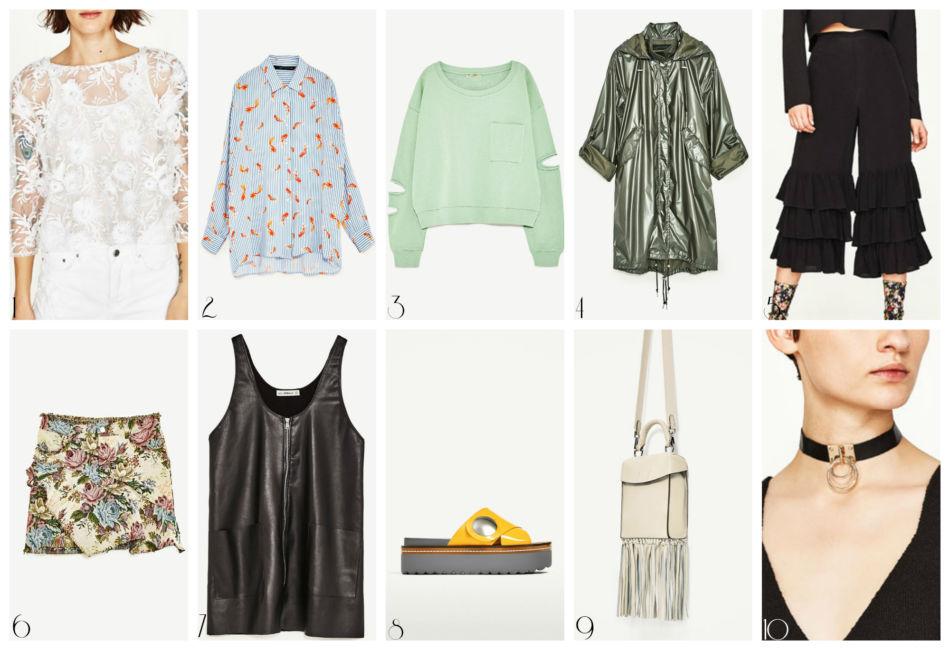 Flop moda donna Zara febbraio 2017.