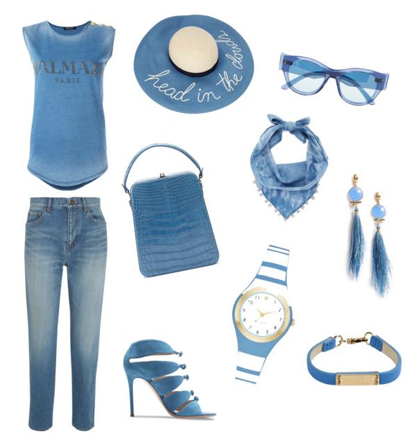 Niagara color outfit.