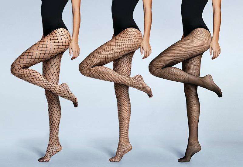 Trend Alert: Come indossare le calze a rete.
