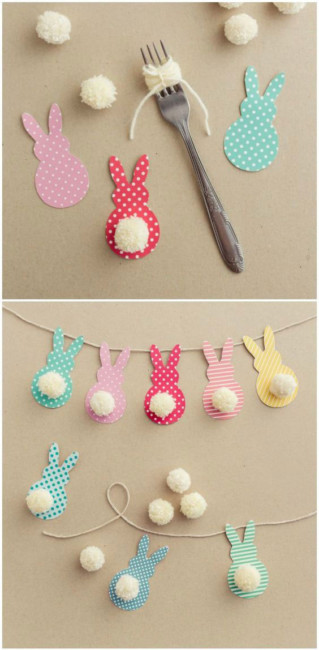 Easter bunny decoration.