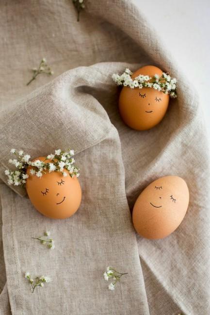 Idea fai da te uova di Pasqua - DIY Easter eggs idea.