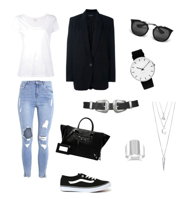 Sneakers Vans idea outfit street style.