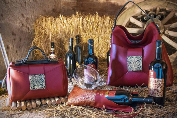 From leather to wine, when enology meets fashion