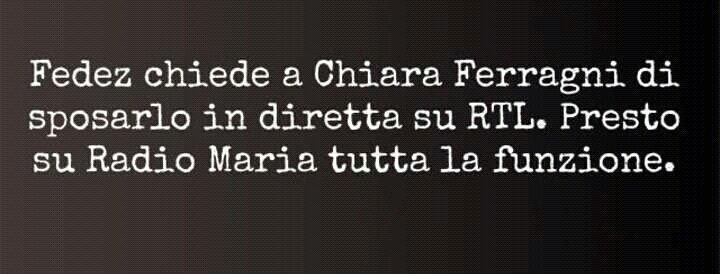 Feed e Ferragni, l'amore ai tempi della doppia F - Love at the time of the double F.