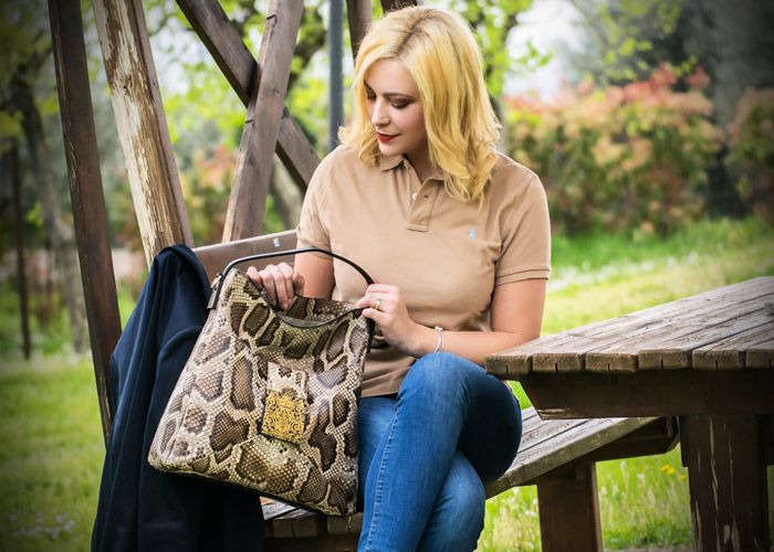 Made in Italy luxury bag Sapaf Atelier.