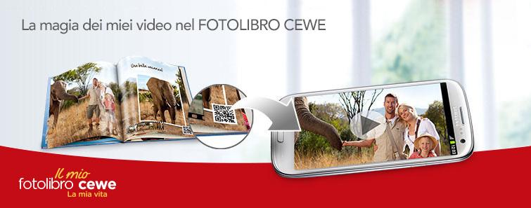CEWE fotolibro personalizzato di qualità - CEWE custom quality photo book.