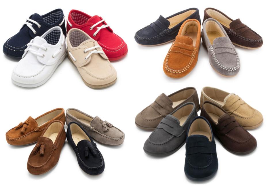 Scarpe per bimbo mocassini Pisamonas - Children's Shoes Pisamonas moccasins.