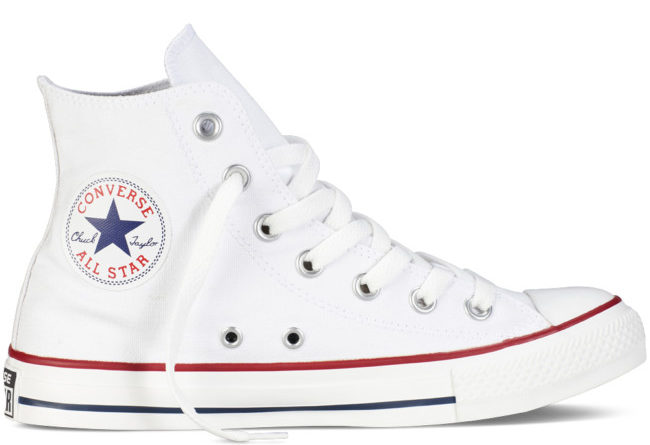 Converse Chuck Taylor All Star among the most influential sneakers in the world.