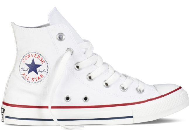 Converse Chuck Taylor All Star sono tra le sneakers più influenti al mondo.