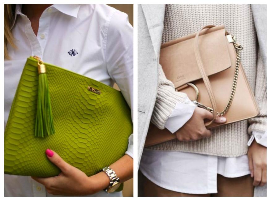 Indossare la borsa sotto il braccio - Wear the bag under your arm.