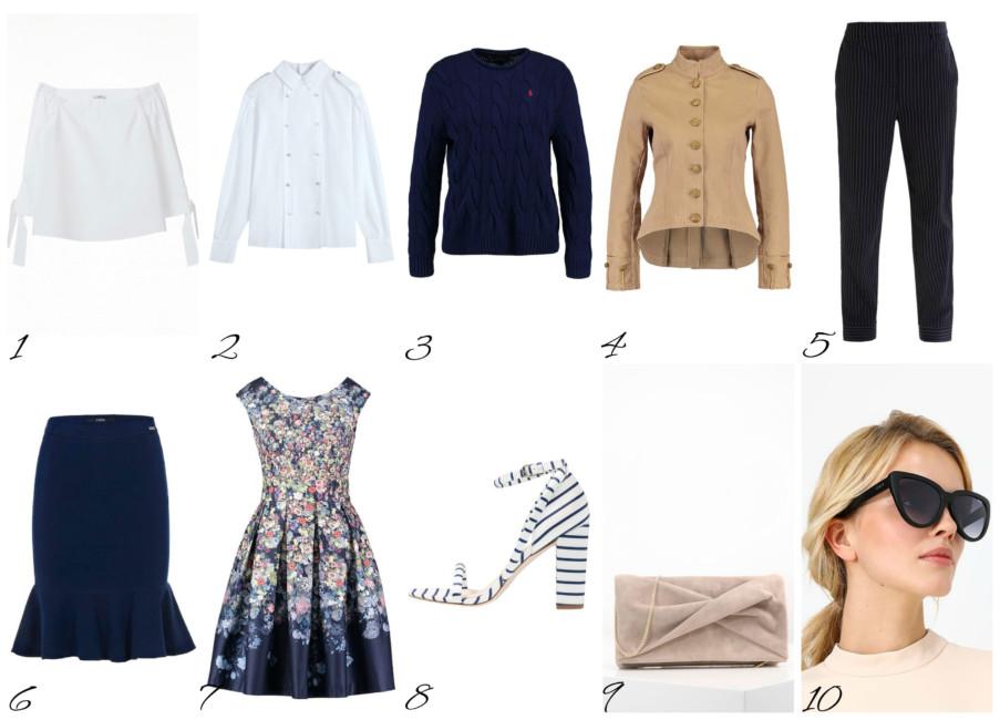Top luglio saldi moda donna - Top July sales women's fashion.
