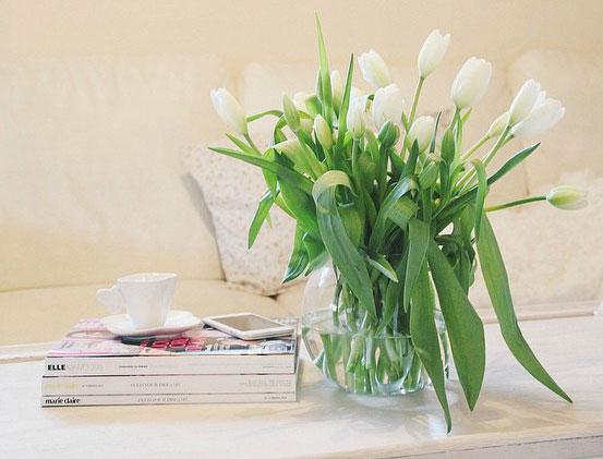 Come arredare casa con i fiori freschi.