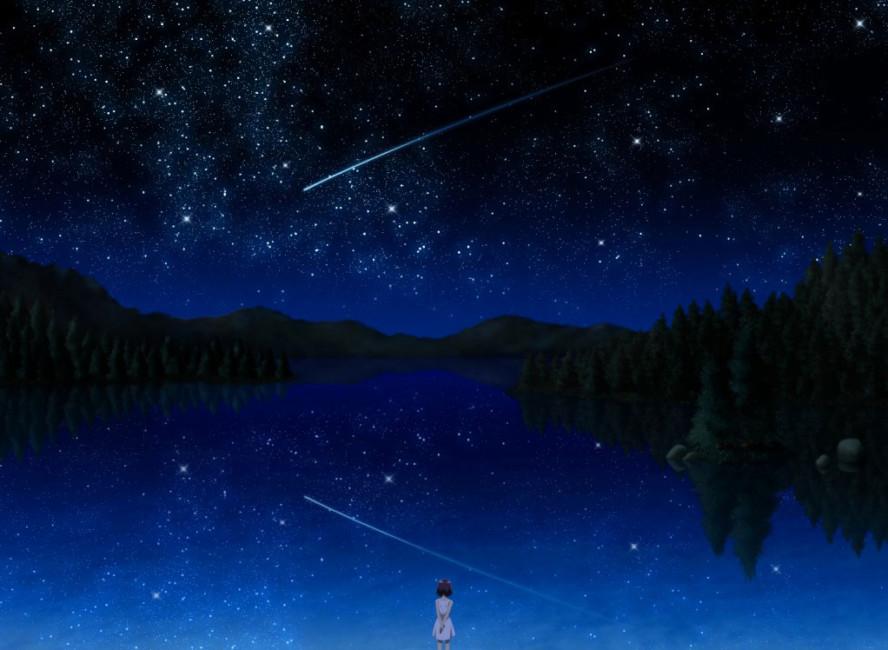 Cosa sono le stelle cadenti e la notte di San Lorenzo.