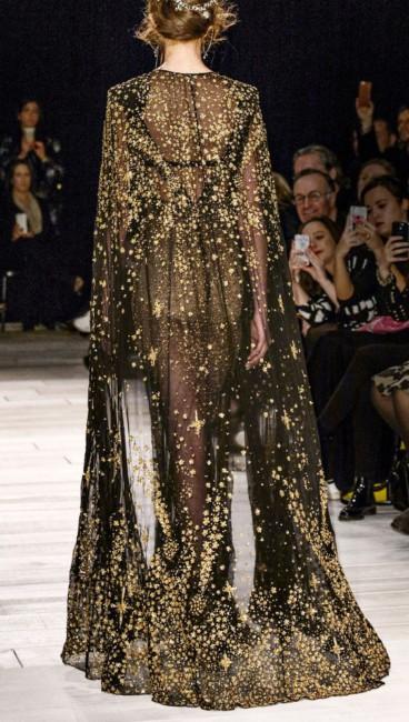 Alexander McQueen star dress.