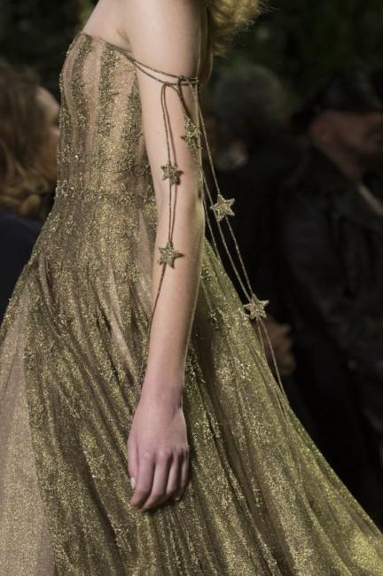 Christian Dior star dress.
