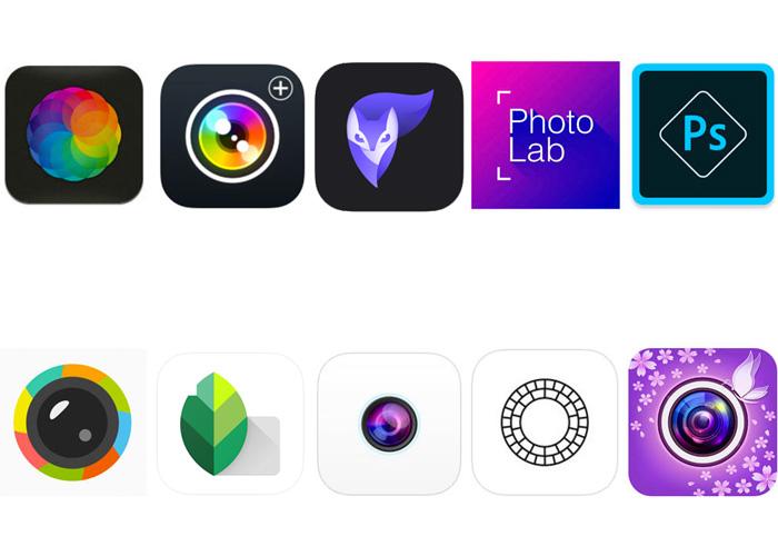 10 migliori applicazioni smartphone per fotografia.