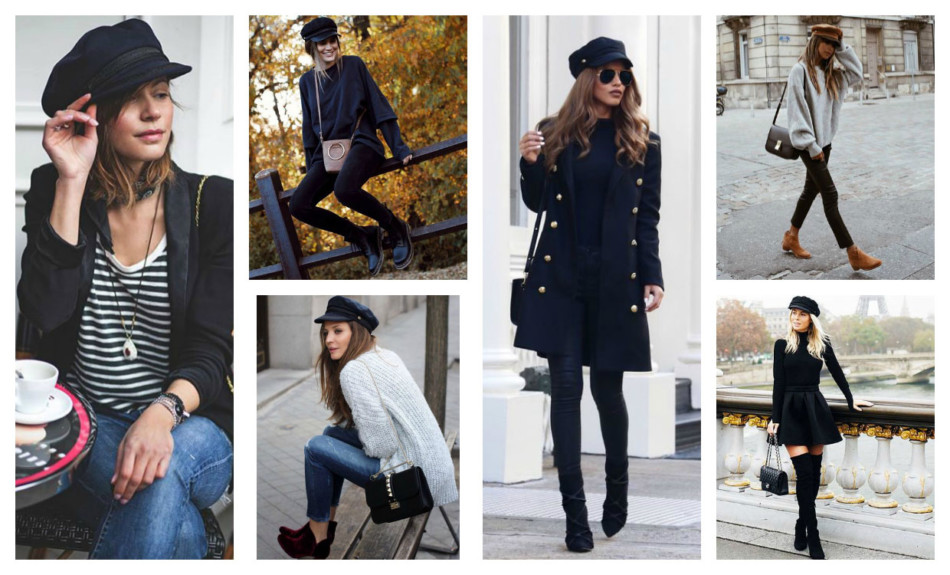 Cappello baker boy must have dell'inverno - Baker boy hat winter must have.