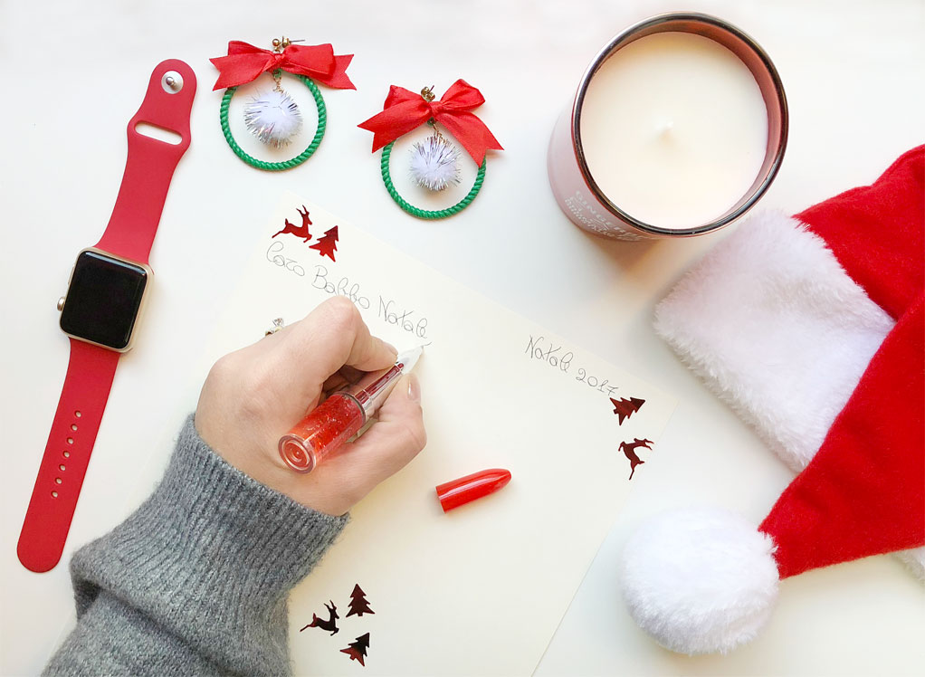 Lettera a Babbo Natale - Letter to Santa Claus.