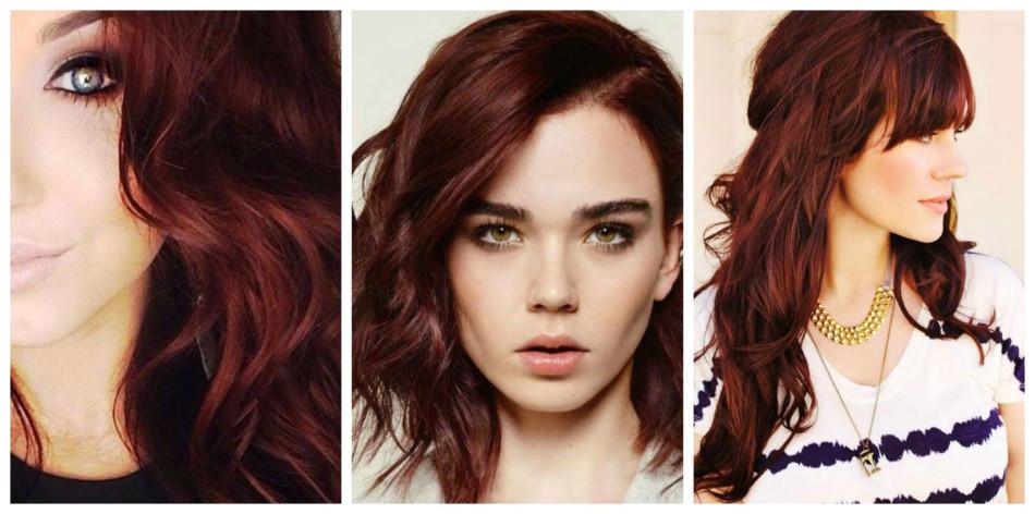 Capelli rossi mogano - Mahogany red hair.