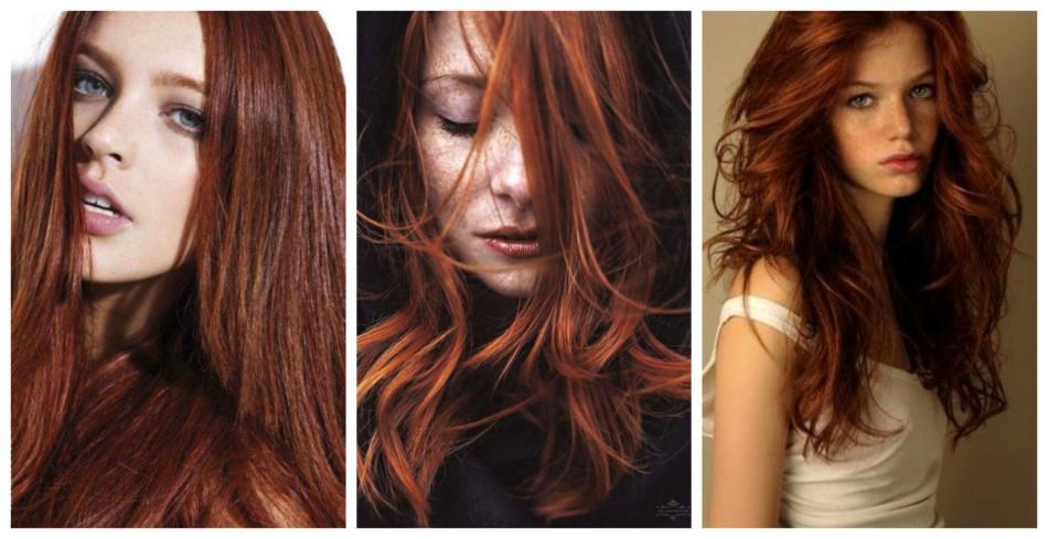 Capelli rosso Tiziano - Titian red hair.
