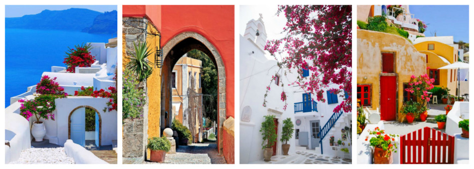 Vacanze in Grecia - Holidays in Greece Santorini, Rhodes, Mykonos and Crete.