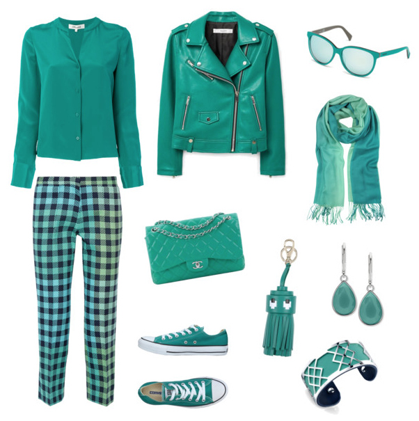 Arcadia color outfit.