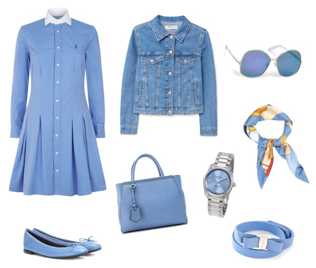 Little Boy Blue seasonal spring summer 2018 color outfit idea.