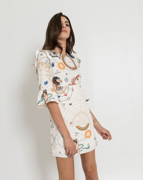 Mini dress Silvian Heach.