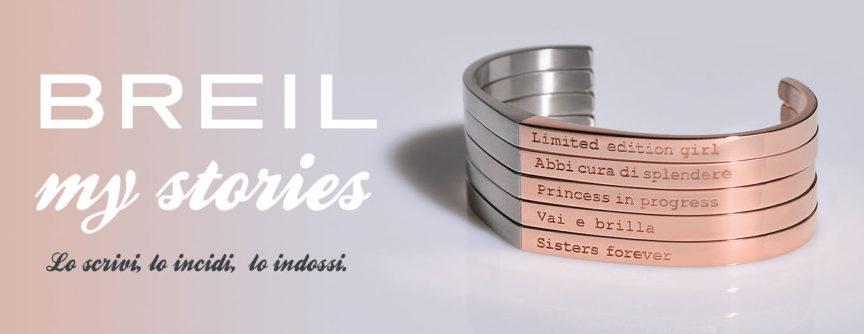 Braccialetti personalizzati Breil MyStories.