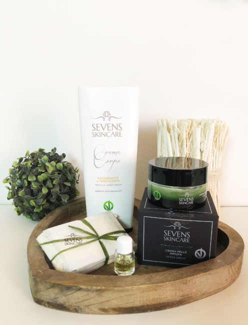 Made in Italy natural cosmetic products.
