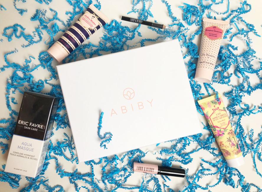 Abiby beauty box mermaid vibes.