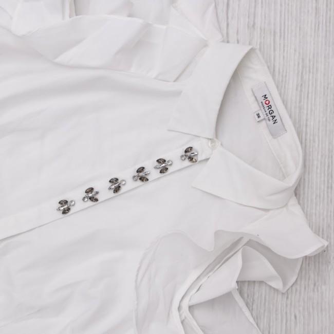 Goccia.clothing camicia bianca Morgan De Toi.