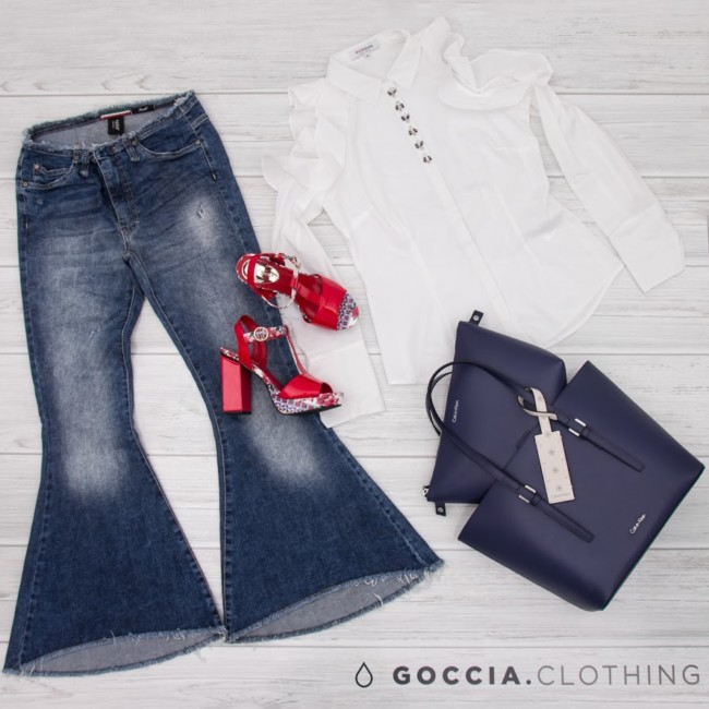 Goccia.clothing, idea di outfit casual chic.