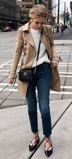 Casual chic outfit.