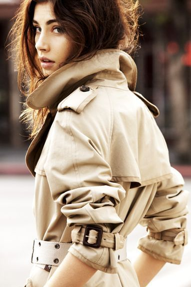 How to customize the sleeves of a raincoat.