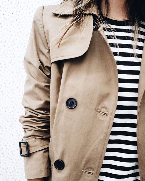 Come indossare il trench - How to wear a trench coat.