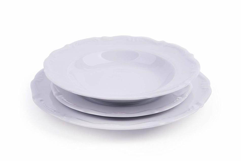 Servizio di piatti in porcellana.