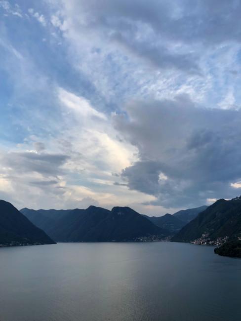 Lake Como landscape.