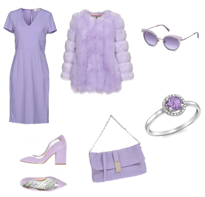 Ispirazione outfit lilla - Violet outfit inspiration.