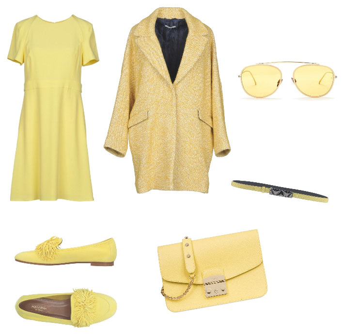Idea outfit giallo - Yellow outfit idea.