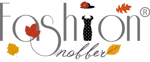 Blog di moda e lifestyle logo autunnale.