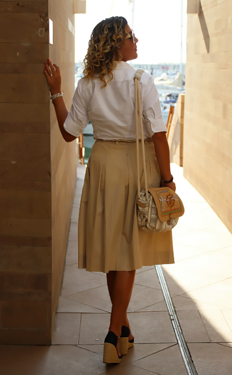 Outfit estivo casual chic.