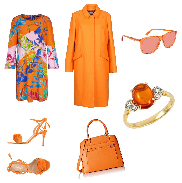 Ispirazione outfit arancione - Orange outfit inspiration.
